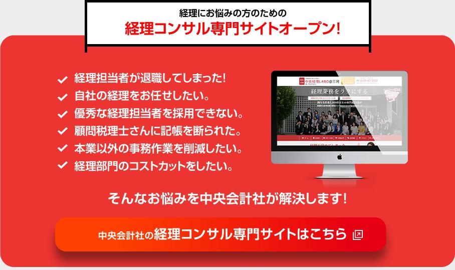 経理コンサル専用サイトオープン!